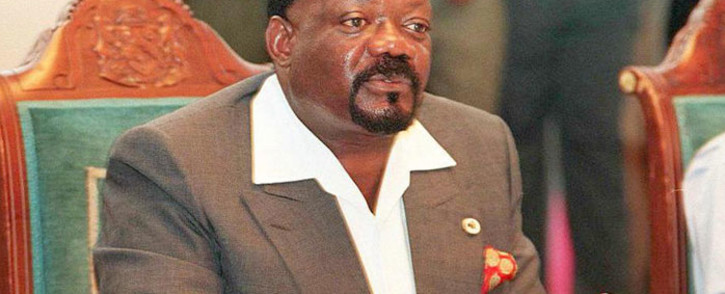 FILE: The late Jonas Savimbi held a joint statement at the media conference, after his meeting with South African delegation led by late former President Nelson Mandela, in Umtata in the Eastern Cape 08 January 1997. Picture: AFP