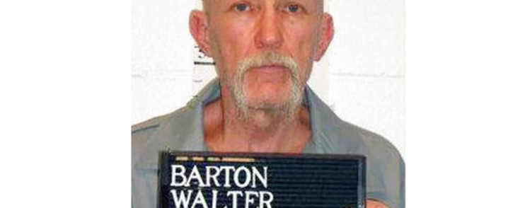 This 18 February 2014 booking image released by the Missouri Department of Corrections shows death row inmate Walter Barton. Picture: AFP