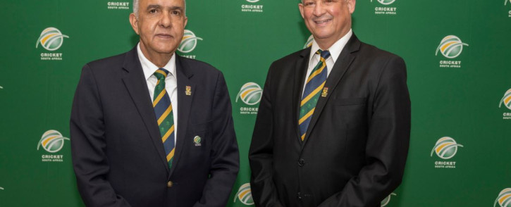 Cricket South Africa held an AGM on Saturday 12 June, 2021 at which Mr Rihan Richards was elected as President and Mr Donovan May as Vice-President, both by unanimous vote. Picture: @OfficialCSA/ Twitter