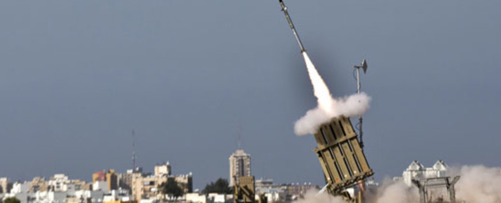 File picture of a missile launch. Picture AFP