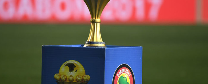 The Africa Cup of Nations trophy. Picture: AFP