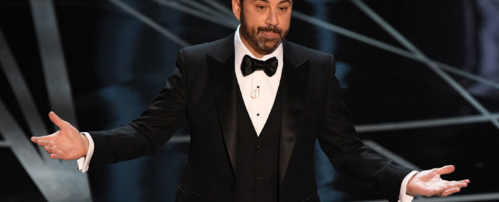 FILE: Jimmy Kimmel. Picture: AFP.