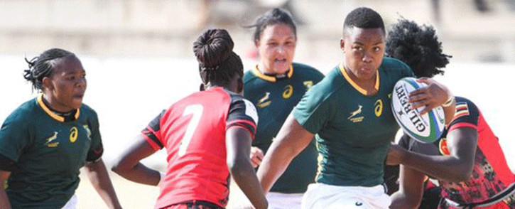 The Springbok Women's team. Picture: @WomenBoks/Twitter.