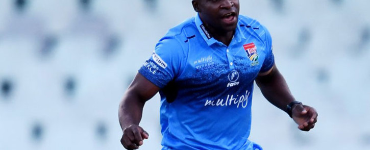 Titans bowler Junior Dala. Picture: @Titans_Cricket/Twitter