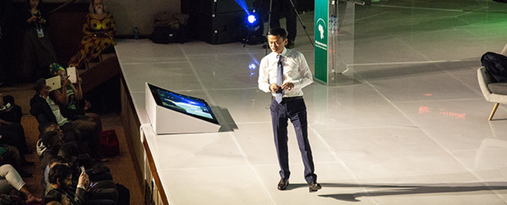 Co-founder of Alibaba, Jack Ma speaks at the Netrepreneurs conference held at Wits. Picture: Kayleen Morgan/EWN