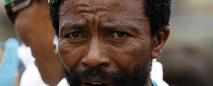FILE: Former abaThembu King Buyelekhaya Dalindyebo. EPA/Siphiwe Sibeko.
