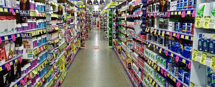 An aisle inside a store. Picture: pixabay.com