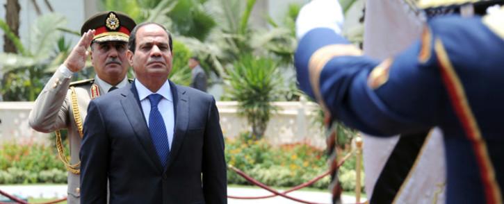 Egypt President Abdel Fattah Al Sisi. Picture: AFP.