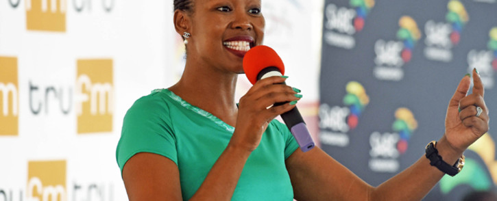 FILE: Stella Ndabeni-Abrahams apologises to the country. Picture: GCIS.