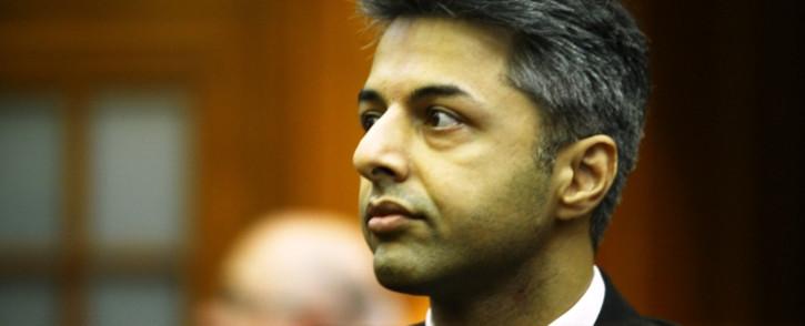 Honeymoon murder accused Shrien Dewani in the dock in the Western Cape High Court. Picture: Aletta Gardner/EWN.