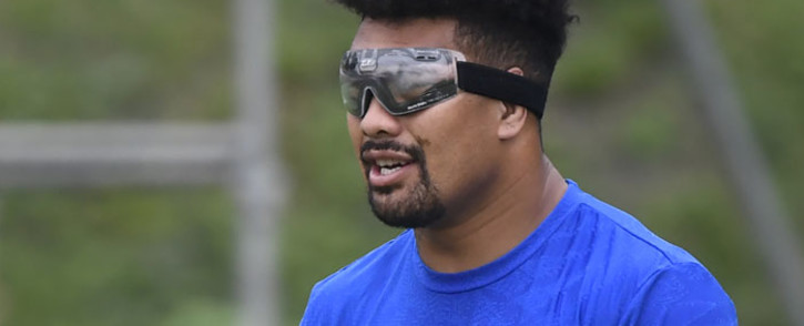 FILE: New Zealand's flanker Ardie Savea takes part in a captain's run training session in Beppu on 1 October 2019, on the eve of their Japan 2019 Rugby World Cup Pool B match against Canada. Picture: AFP