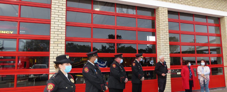 The Wilderness fire station is the southern Cape's first double-storey facility with a fireman's pole. Picture: Supplied