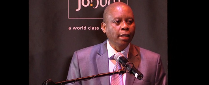 FILE: Johannesburg Mayor Herman Mashaba announces his Mayoral Committee at the Johannesburg Theatre. Picture: Kgothatso Mogale/ EWN.