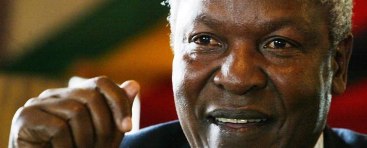 Zimbabwe's Defence Minister Sydney Sekeramayi. Picture: AFP.