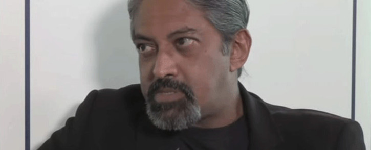 Kanthan Pillay. Picture: YouTube screengrab.