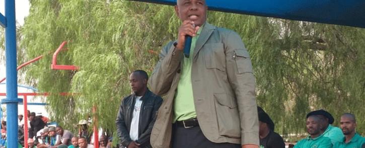 FILE: Amcu President Joseph Mathunjwa. Picture: @_AMCU/Twitter.