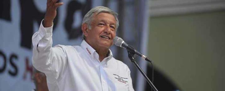 FILE: Mexican President Andres Manuel Lopez Obrador. @lopezobrador.org.mx/Facebook.com