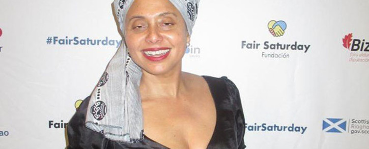 Artscape Theatre Centre's chief executive officer Marlene le Roux in Bilbao, Spain to receive the Fair Saturday Foundation Award. Picture: @ArtscapeTheatre/Twitter
