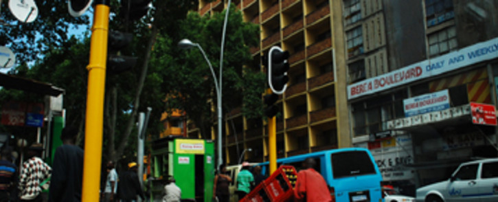 The streets of Hillbrow. Picture: EWN.