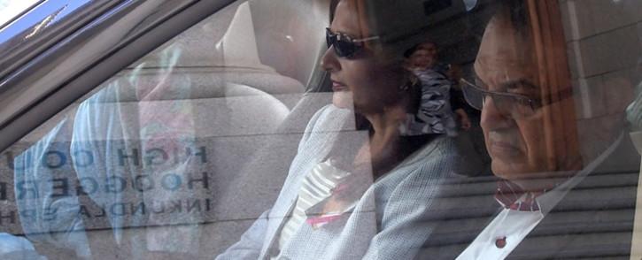 FILE: Anni Dewani's family arrive at the Western Cape High Court on 7 November 2014. Picture: Aletta Gardner/EWN.