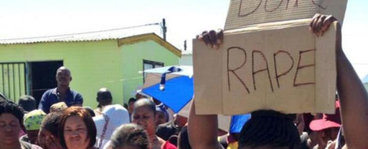 FILE: Anti-rape protest. Picture: EWN.