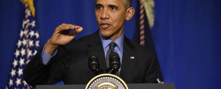 US president Barack Obama. Picture: AFP