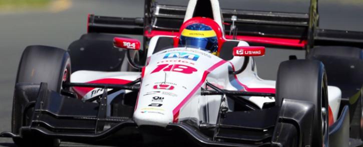 French driver Sebastien Bourdais. Picture: Twitter/@BourdaisOnTrack.