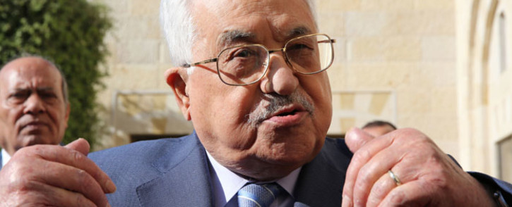 FILE: Palestinian President Mahmoud Abbas. Picture: AFP