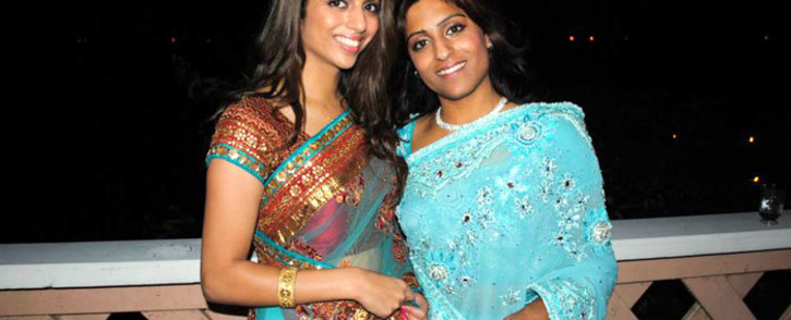 The late Anni Hindocha Dewani and her cousin, Sneha Mashru. Picture: Sneha Mashru's Facebook page
