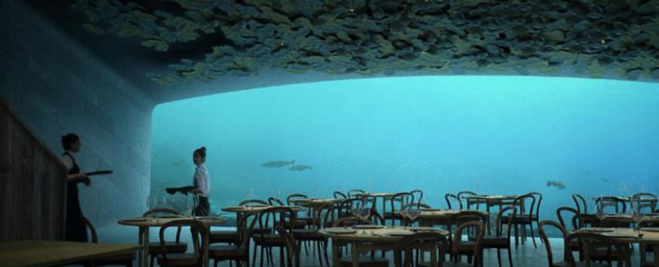 Restaurant Under. Picture: snohetta.com/project/352-under