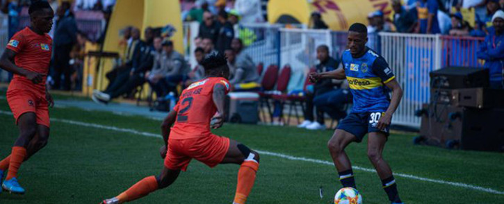 Polokwane City stole the show at Newlands Stadium following a 2-0 victory over Cape Town City FC in the first MTN8 quarter-final. Picture: @CapeTownCityFC/Twitter.