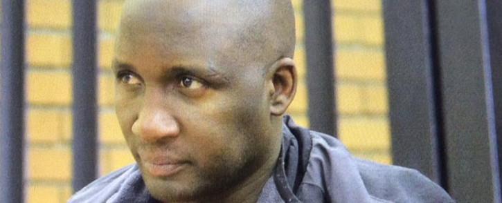 Former Bafana footballer Lebogang Morula in court on 10 Alpril 2015. Picture: Barry Bateman/EWN.