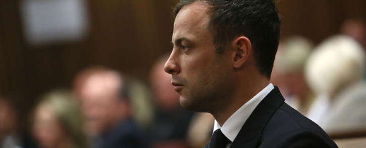 FILE: Paralympian Oscar Pistorius was found not guilty of murder 'dolus eventualis' on Friday 12 September 2014. Picture: Pool.