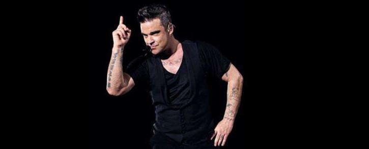 FILE: British singer Robbie Williams. Picture: Pool/AFP