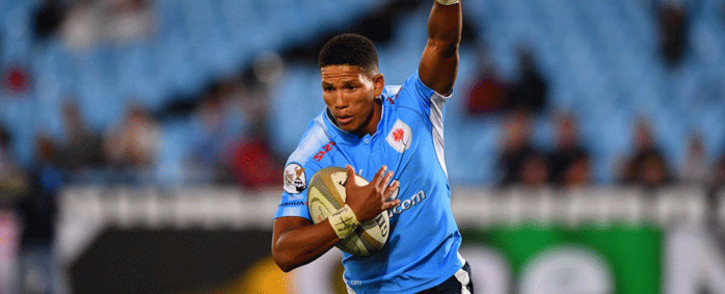 Manie Libbok will start at flyhalf for the Bulls against the Lions on Saturday, 14 July 2018. Picture: Twitter/@BlueBullsRugby