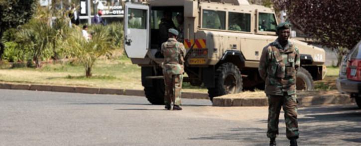 FILE: SANDF soldiers. Picture: EWN