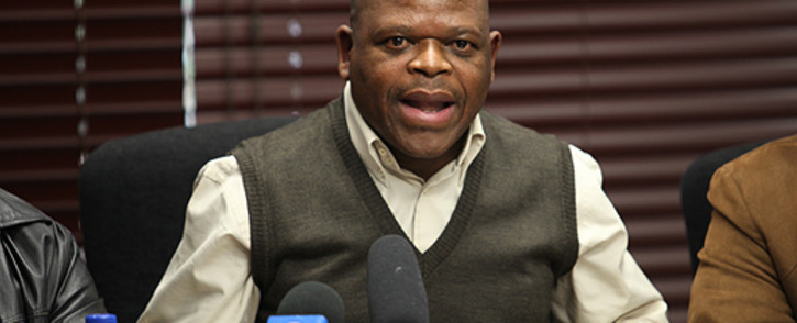 Former National Union of Mineworkers' General Secretary Frans Baleni. Picture: EWN.