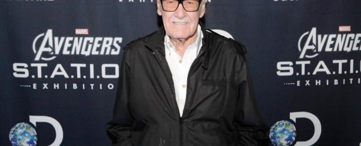 FILE: Late comic book legend Stan Lee. Picture: AFP