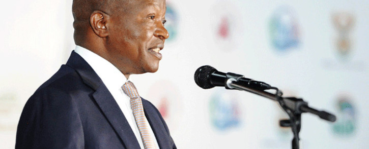 Deputy President David Mabuza delivering closing remarks at the Presidential Health Summit at the Birchwood Hotel in Boksburg, Gauteng on 20 October 2018. Picture: GCIS.