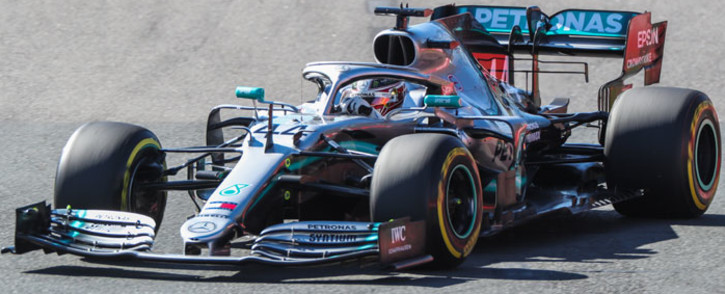 Mercedes driver Lewis Hamilton during the second practice session in Melbourne on 15 March 2019, ahead of the Formula One Australian Grand Prix. Picture: AFP