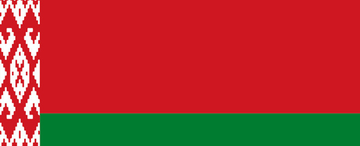 FILE: Flag of Belarus. Picture: commons.wikimedia.org