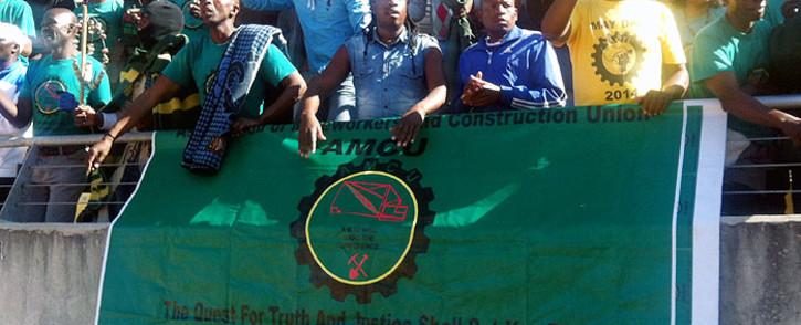 Amcu branch secretary Bongani Bhayi Mehlonkomo was gunned down on his way home from work. Picture: Reinart Toerien/EWN.