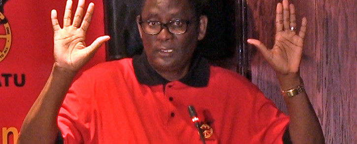 FILE. Axed Cosatu Secretary-General Zwelinzima Vavi. Picture: AFP.