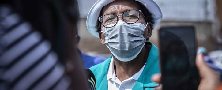 FILE: Gauteng MEC of Community Safety Faith Mazibuko. Picture: Abigail Javier/Eyewitness News