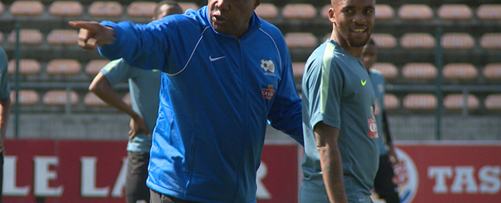 FILE: Bafana Bafana coach Shakes Mashaba. Picture: Supplied