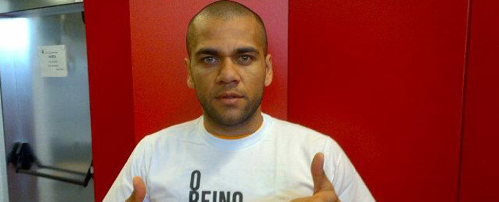 Brazil's defender Dani Alves. Picture: Facebook.