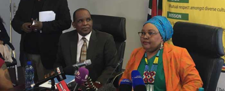 FILE: Religious watchdog the CRL Rights Commission briefing the media. Picture: Thando Kubheka/EWN.