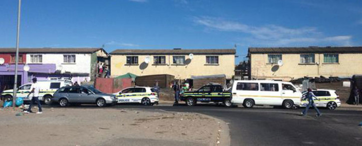 FILE: Law enforcement officers patrolling the streets of Manenberg. Picture: Shamiela Fisher/EWN.
