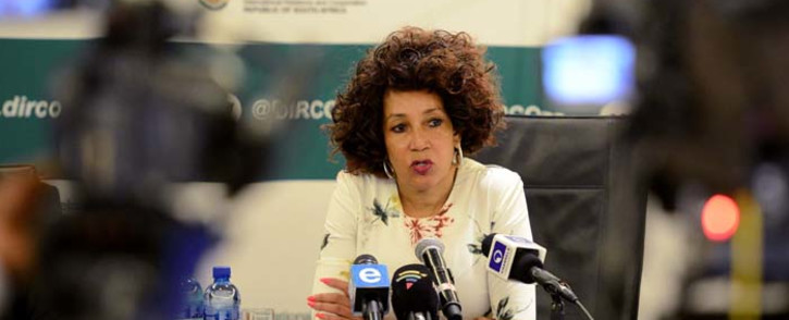 FILE: Minister of International Relations and Co-operation Lindiwe Sisulu. Picture: GCIS