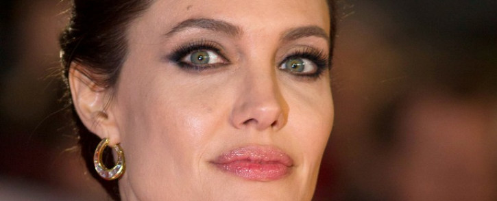 US director and actress Angelina Jolie at the UK premiere of 'Unbroken' in London on November 25, 2014. Picture: AFP.